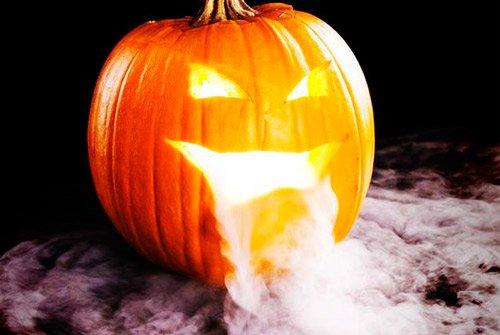 Adornos domésticos en Halloween